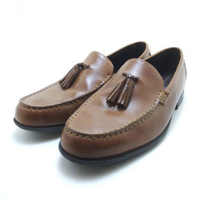 Cole Haan Men's Tassel Leather Loafers Like New!